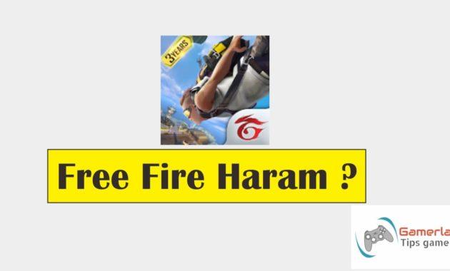 apakah free fire haram