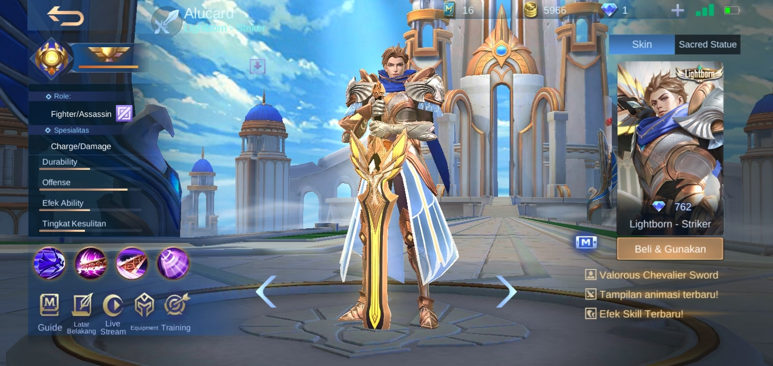Alucard - Skin mobile legends terbaru 2020