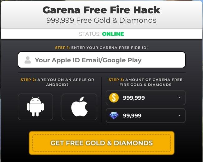 gethacks. net/garena Free Fire