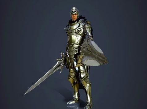 Class Black Desert - warrior