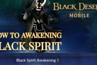 Cara Awakening Black Desert Mobile
