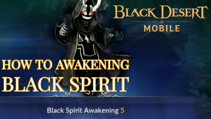 Cara awakenng black desert mobile