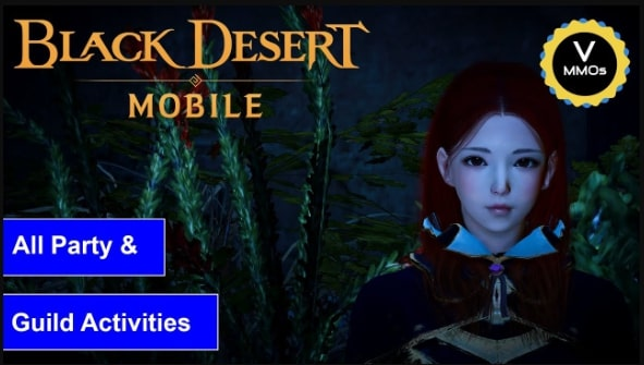 Cara party Black desert mobile