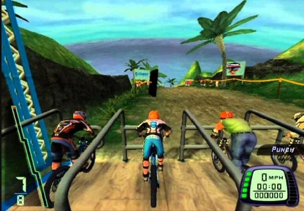 Kode Downhill PS2 Membuka Semua Karakter