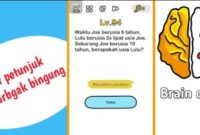 waktu joe usia 6 tahun brain out