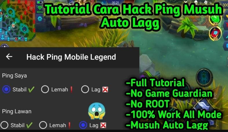 Cara Hack Ping MLBB
