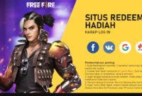 kode redeem free fire april 2020
