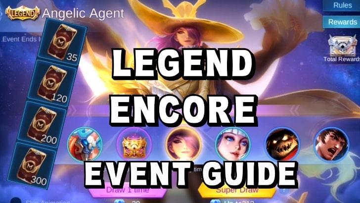 cara menggunakan token legend encore ml