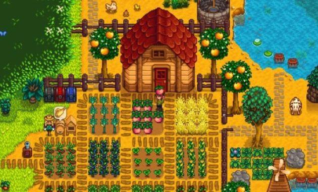 Kumpulan Game Berkebun Offline PC Gratis - Stardew Valley