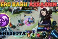 build benedetta tersakit mobile legends