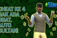 cara cheat uang the sims 4