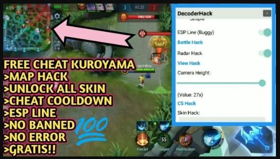 cara menggunakan kuroyama ml