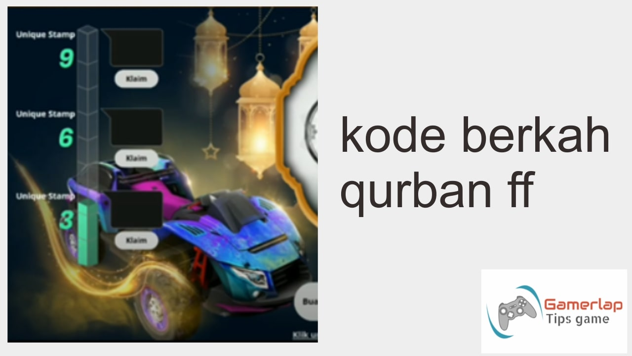 kode berkah qurban ff