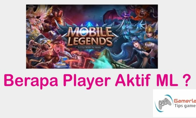 player aktif mobile legends