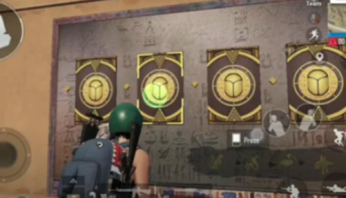 teka teki kedua kuil rahasia kuno pubg