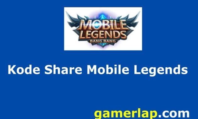 kode share mobile legends