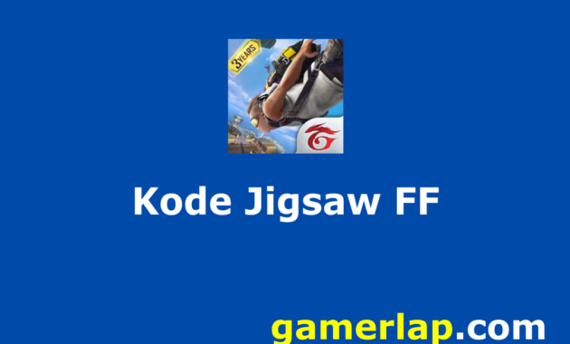 kode jigsaw free fire